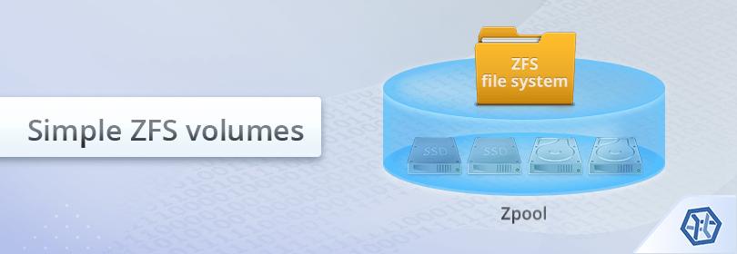 So retten Sie Daten von einem einfachen ZFS-Volumen