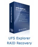 UFS Explorer Standard Recovery for RAID