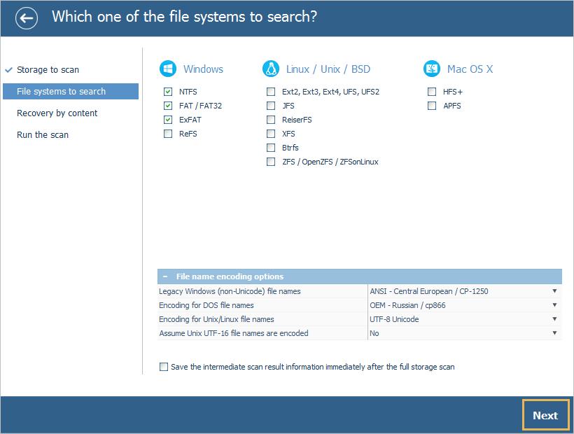 UFS Explorer install step 5