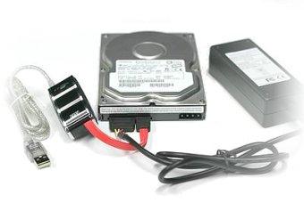 SATA/USB disk adaptor