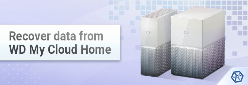 Recover data from WD My Cloud Home