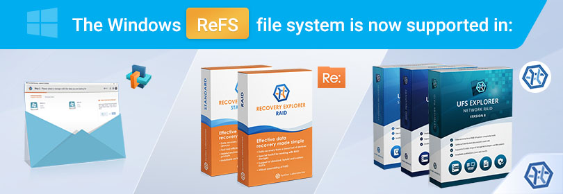 Data recovery from Windows ReFS