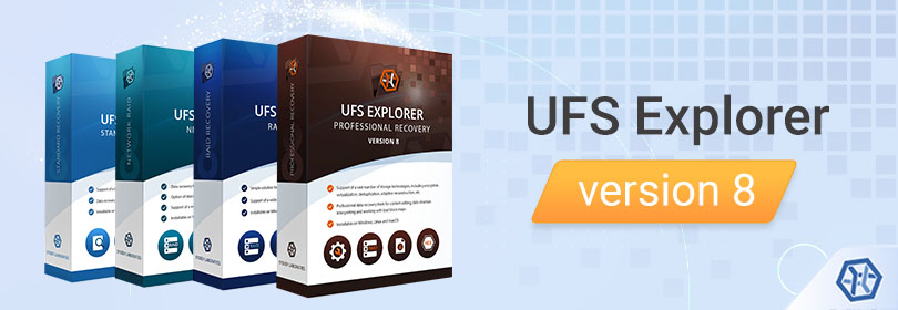 UFS Explorer version 8