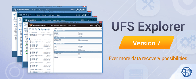 UFS Explorer version 7