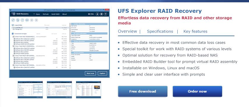 Setup instructions – UFS Explorer