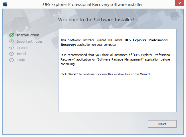 UFS Explorer Professional Recovery screenshot