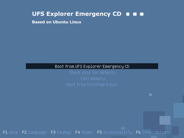UFS Explorer screenshot
