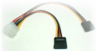 SATA power splitter
