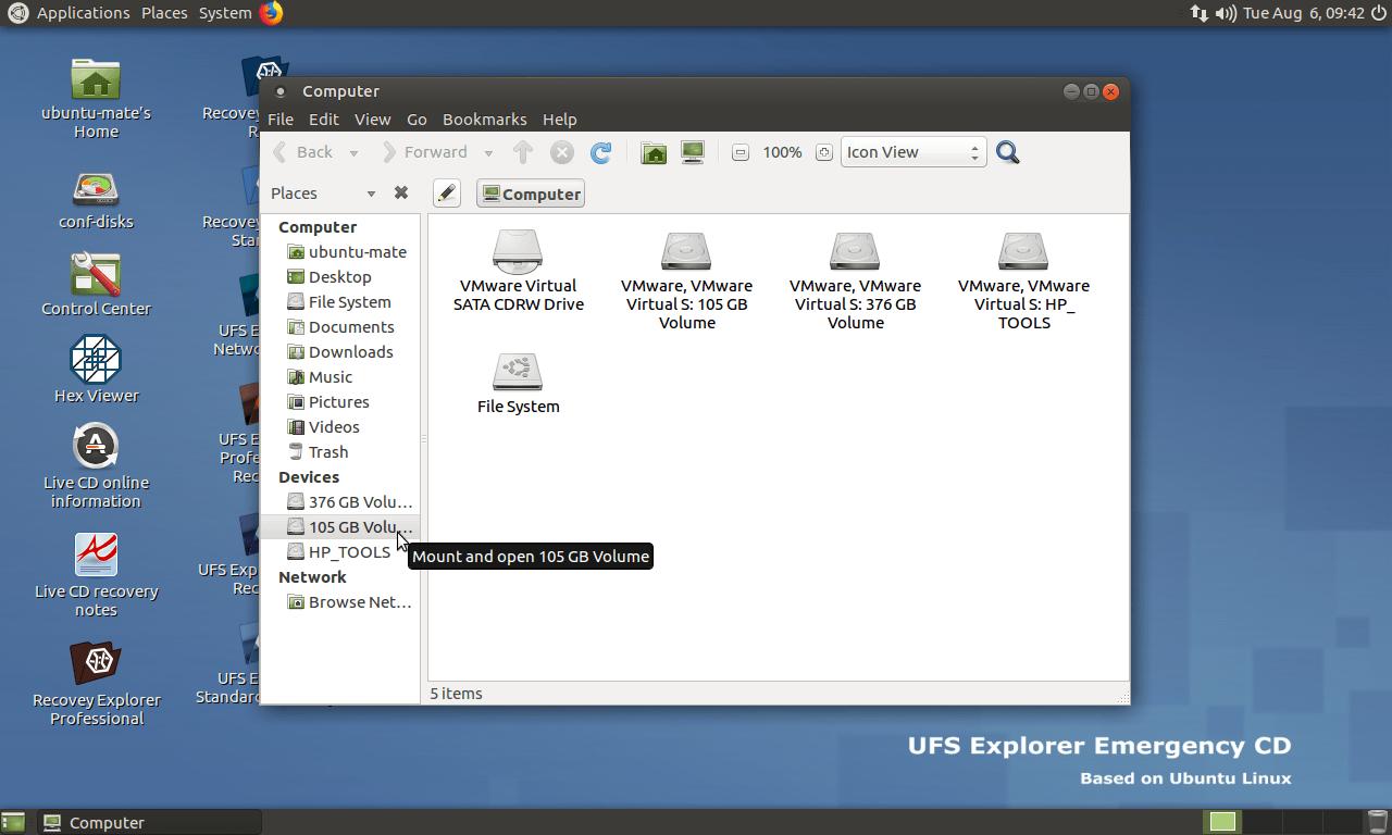 UFS Explorer screenshot