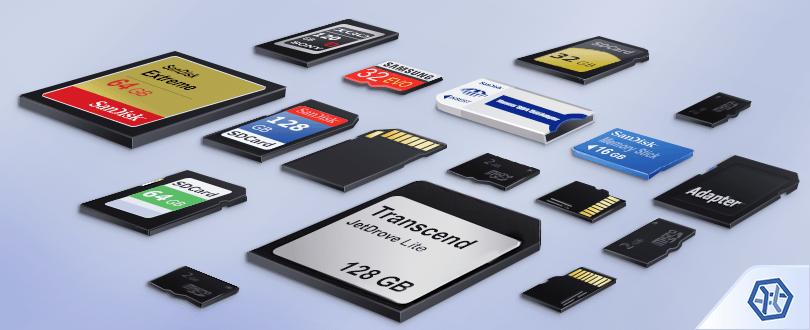 Recuperação do cartão de memória