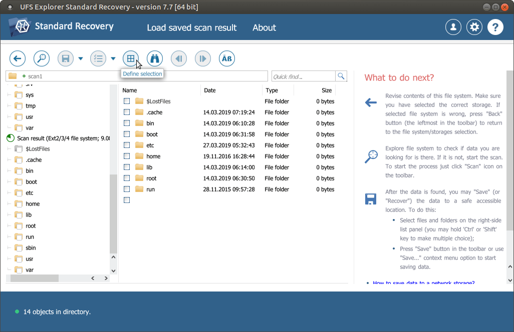 the compressed DMG file of UFS Explorer Standard Recovery