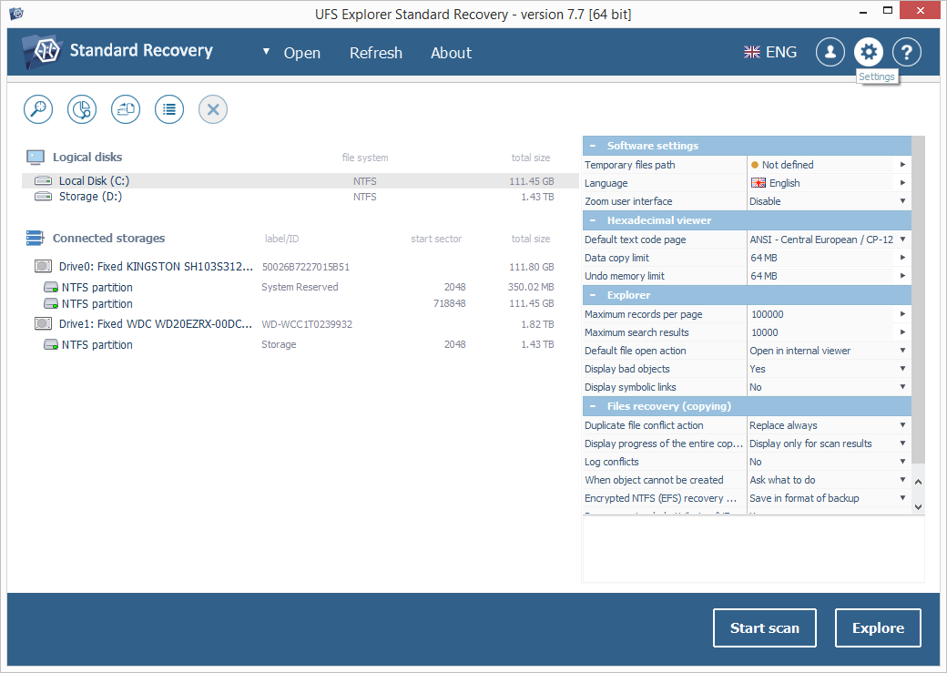UFS Explorer install step 2